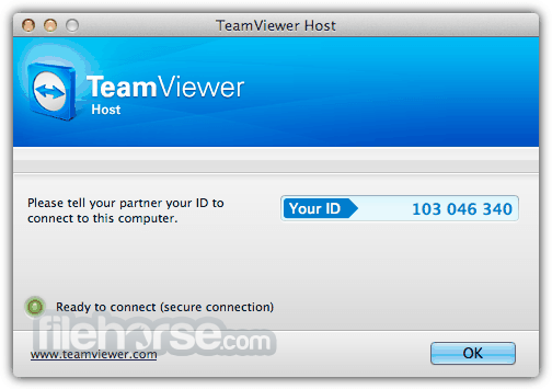 TeamViewer Host 15.12.4 Captura de Pantalla 1
