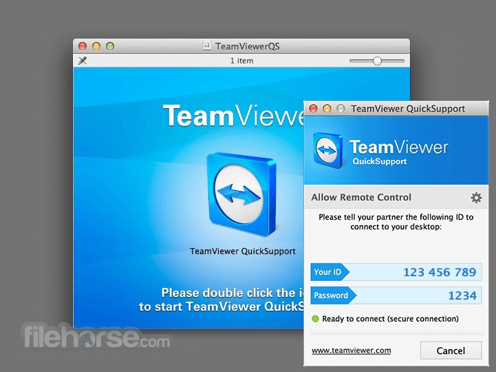 TeamViewer QuickSupport 15.11.6 Screenshot 1