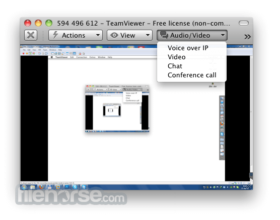 TeamViewer 10.0.41404 Screenshot 5