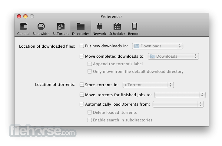 uTorrent 1.6.5 Build 27624 Screenshot 5