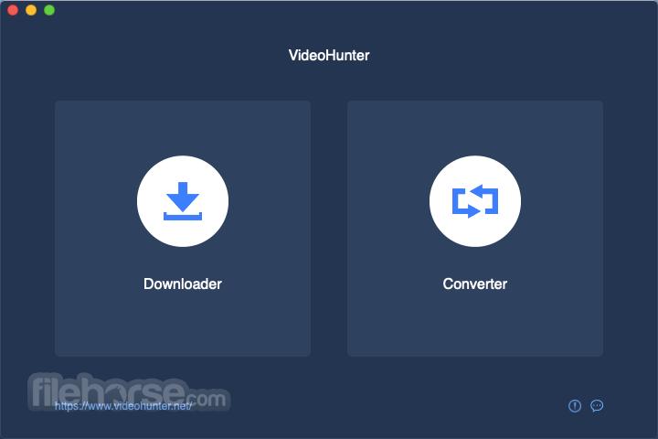VideoHunter 1.2.7 Captura de Pantalla 1