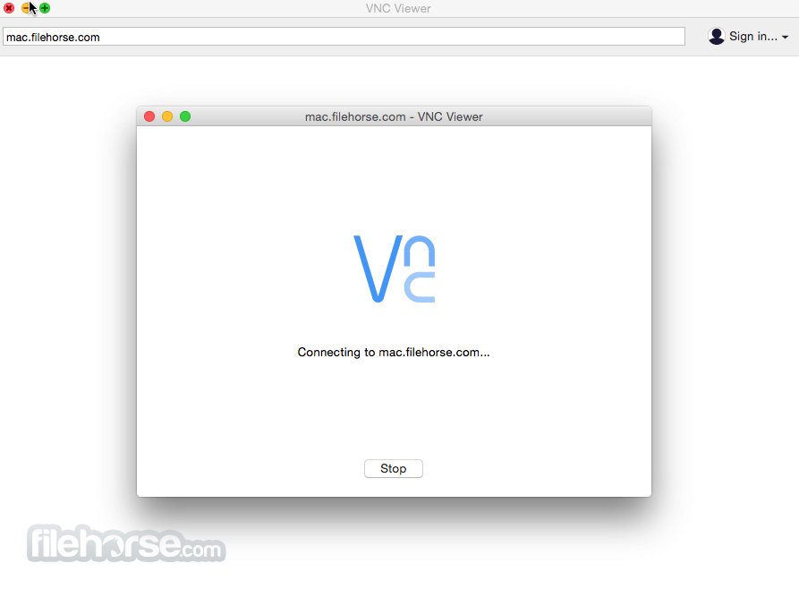 VNC for Mac 5.2.3 Screenshot 2