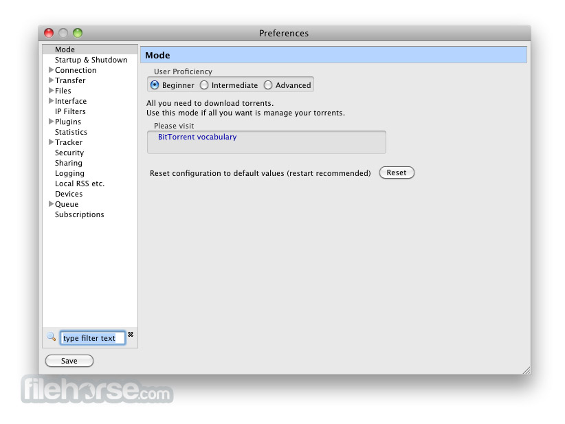 Vuze 4.3.1.4 Screenshot 4