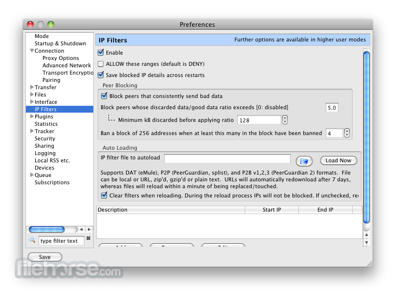 Vuze 4.6.0.0 Screenshot 5