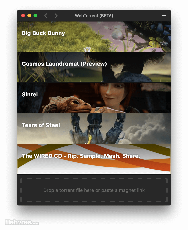 WebTorrent 0.21.0 Screenshot 2