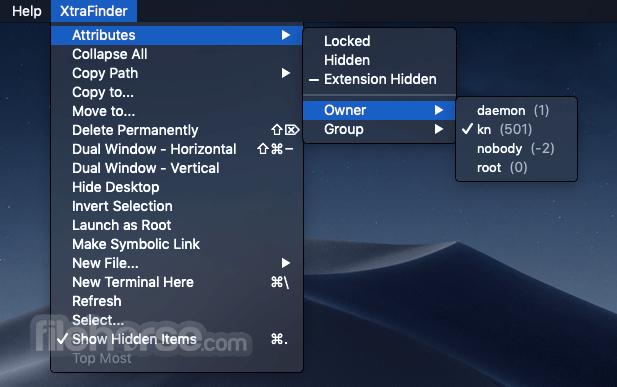 XtraFinder 1.6.1 Screenshot 4