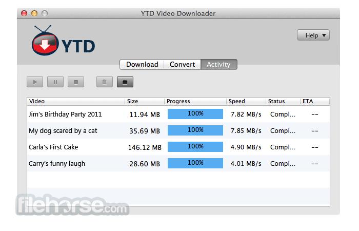 YTD Video Downloader 4.4 Screenshot 1