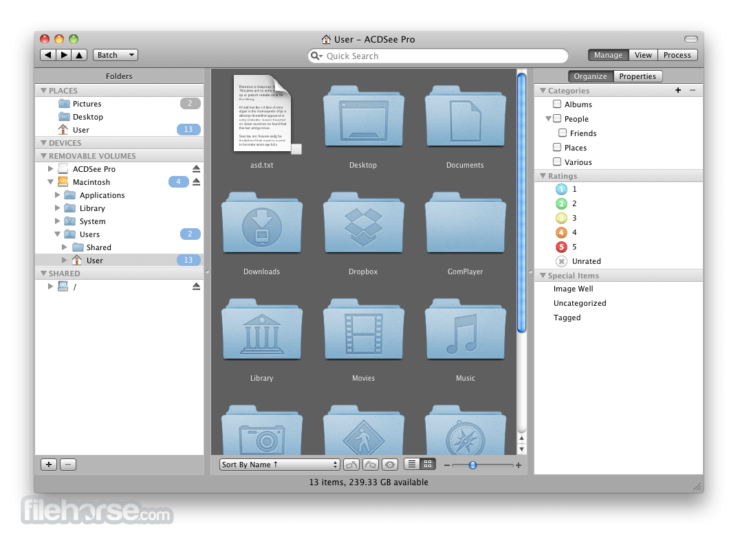 ACDSee Pro 1.7 Build 389 Screenshot 1