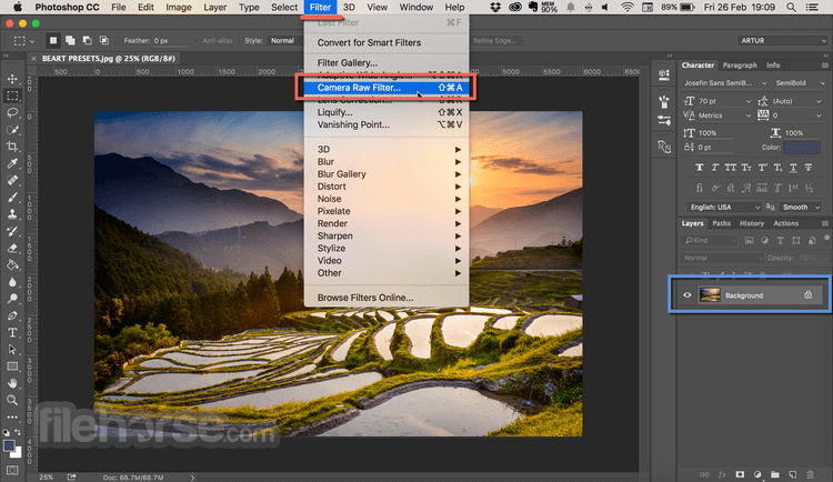Adobe Camera Raw 9.6 Screenshot 2
