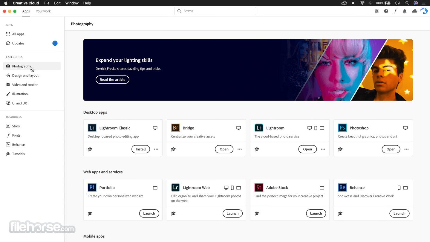 Adobe Creative Cloud 5.3.5.13 Captura de Pantalla 2