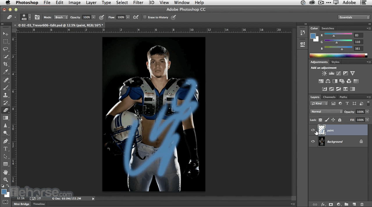 Adobe Photoshop CC 2021 22.3.1 Captura de Pantalla 1
