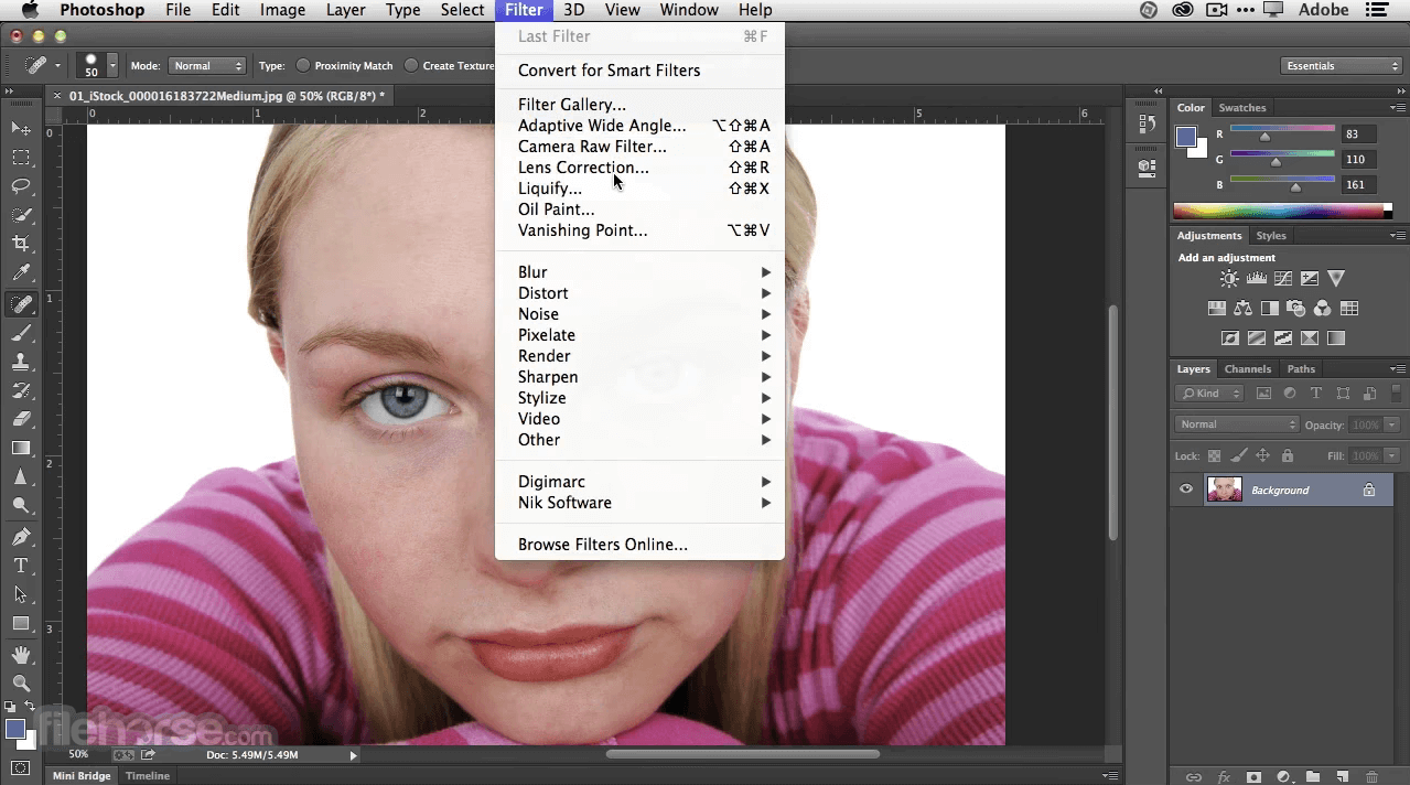 Adobe Photoshop CC 2020 22.1.1 Screenshot 2