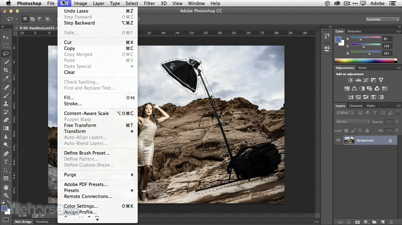 Adobe Photoshop CC 2020 22.1.1 Screenshot 3