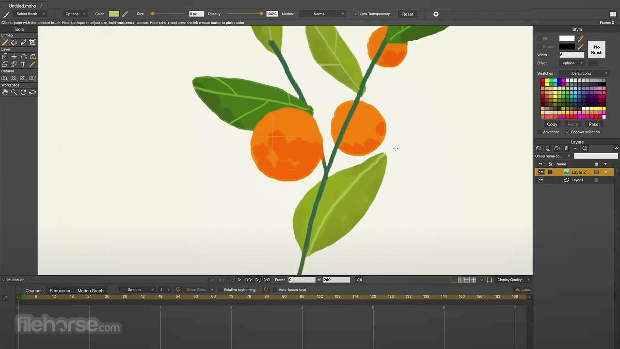 Moho Pro 13.0 Screenshot 2