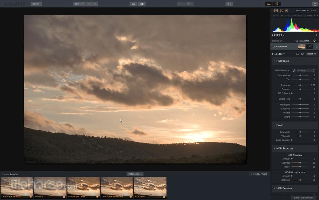 Aurora HDR 2019 1.0.1 Screenshot 1