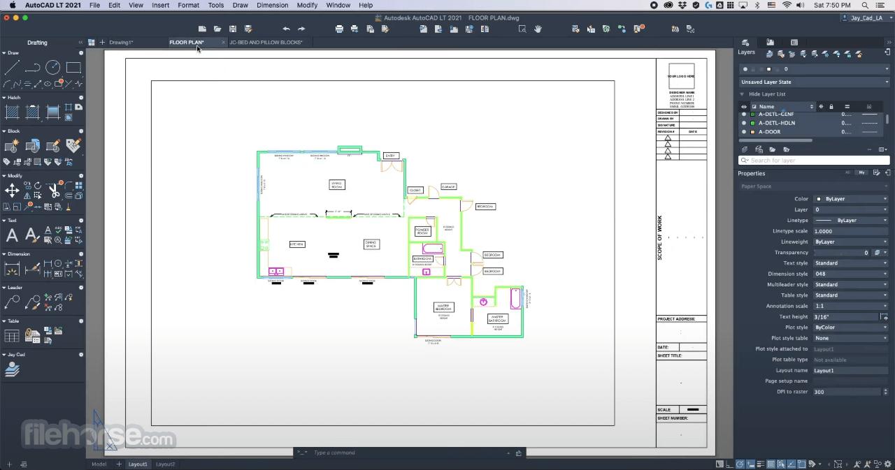 Autodesk AutoCAD LT 2021 Captura de Pantalla 1