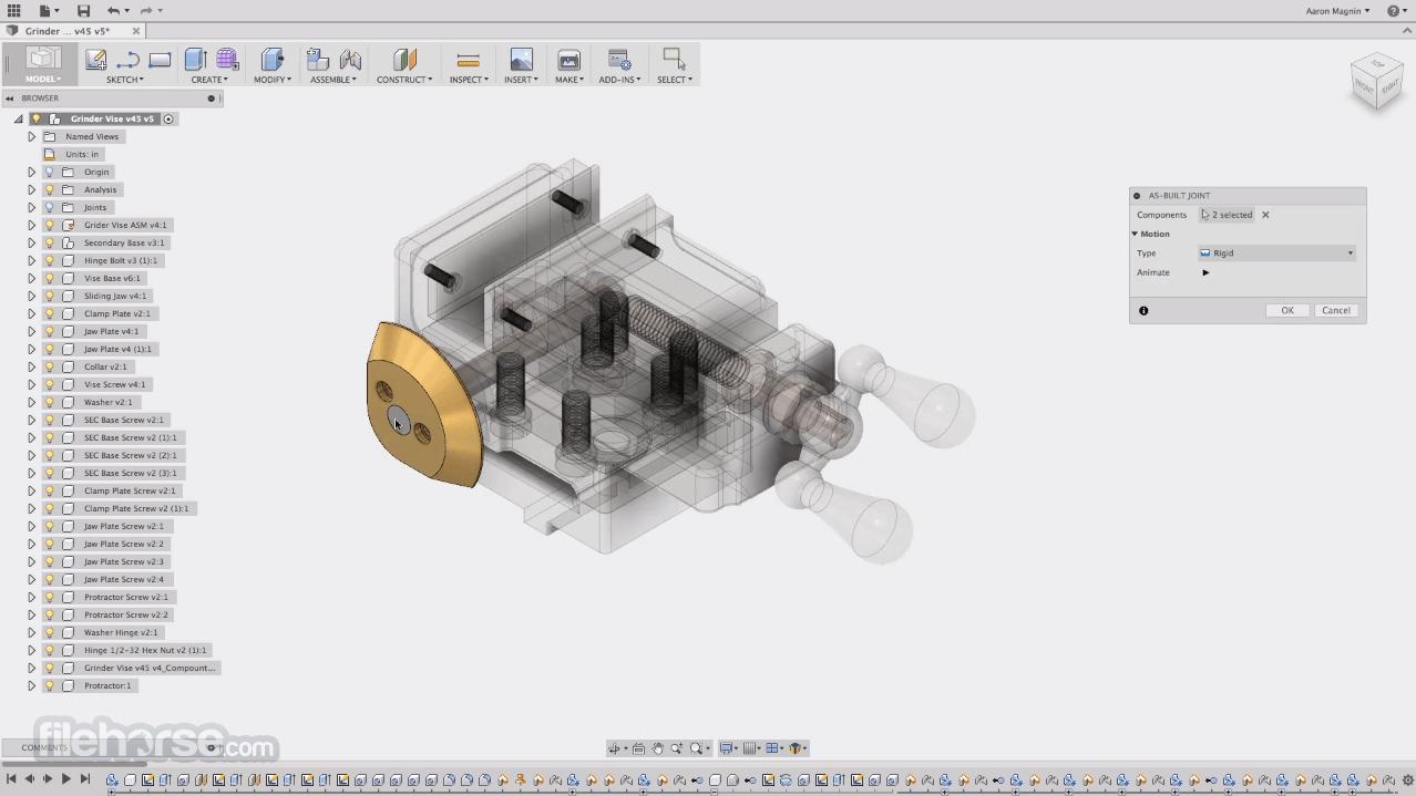 Autodesk Fusion 360 Screenshot 5