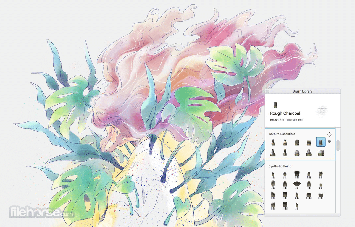 Autodesk SketchBook 8.6.1 Captura de Pantalla 1