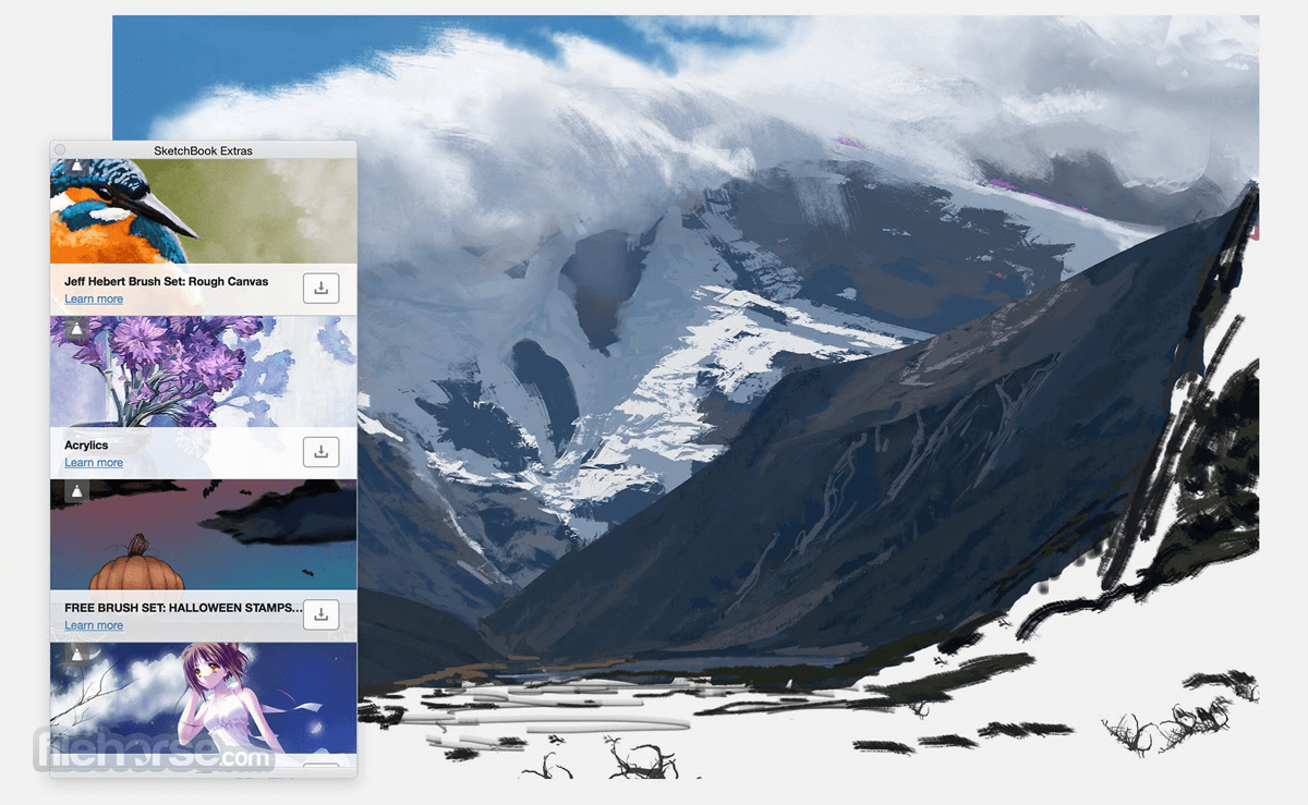 Autodesk SketchBook 8.6.1 Captura de Pantalla 3
