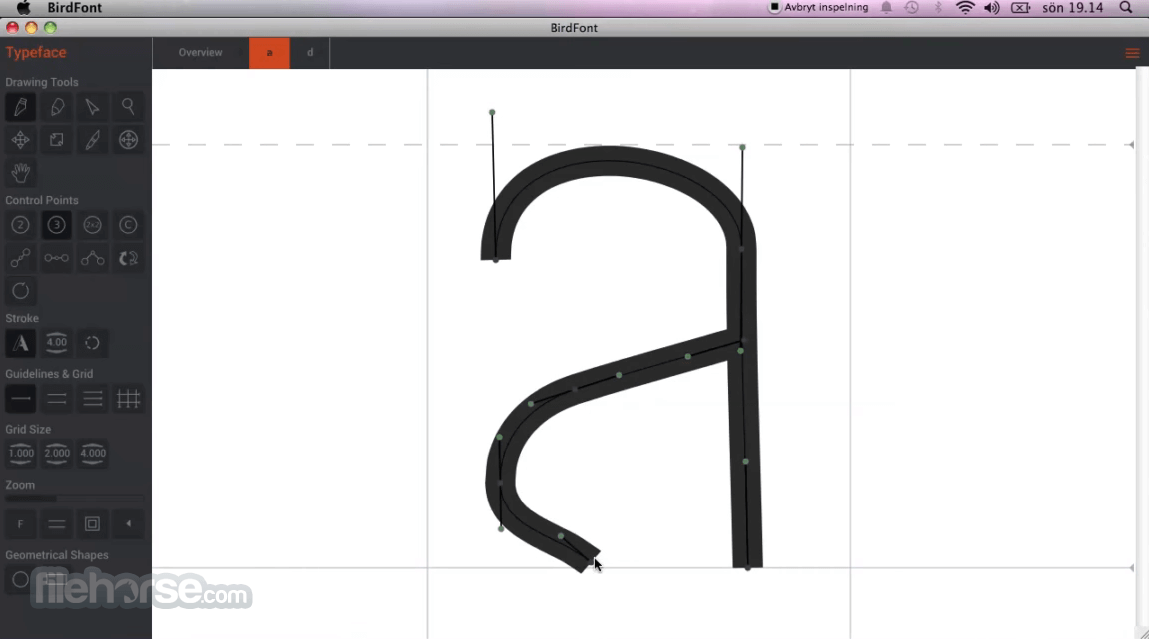 BirdFont for Mac - Download Free (2019 Latest Version)