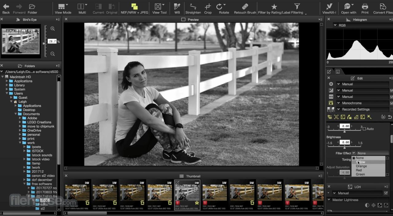 Capture NX-D 1.6.5 Screenshot 2