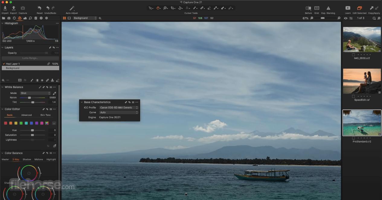 Capture One 13.1.3 Screenshot 1