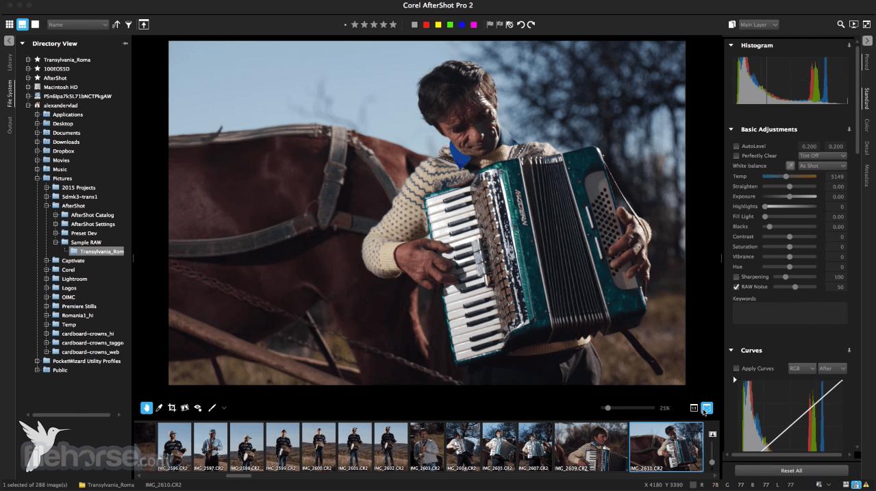 Corel AfterShot Pro 3.6.0.380 Screenshot 1
