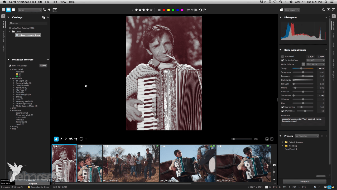 Corel AfterShot Pro 3.6.0.380 Screenshot 3
