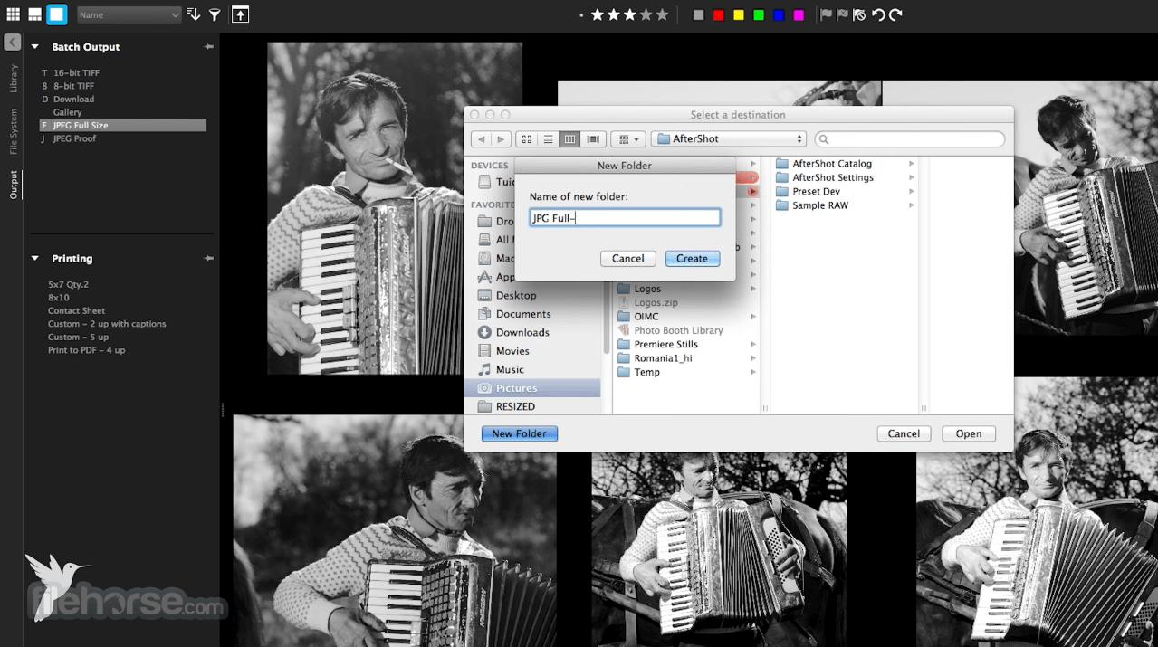 Corel AfterShot Pro 3.6.0.380 Screenshot 4