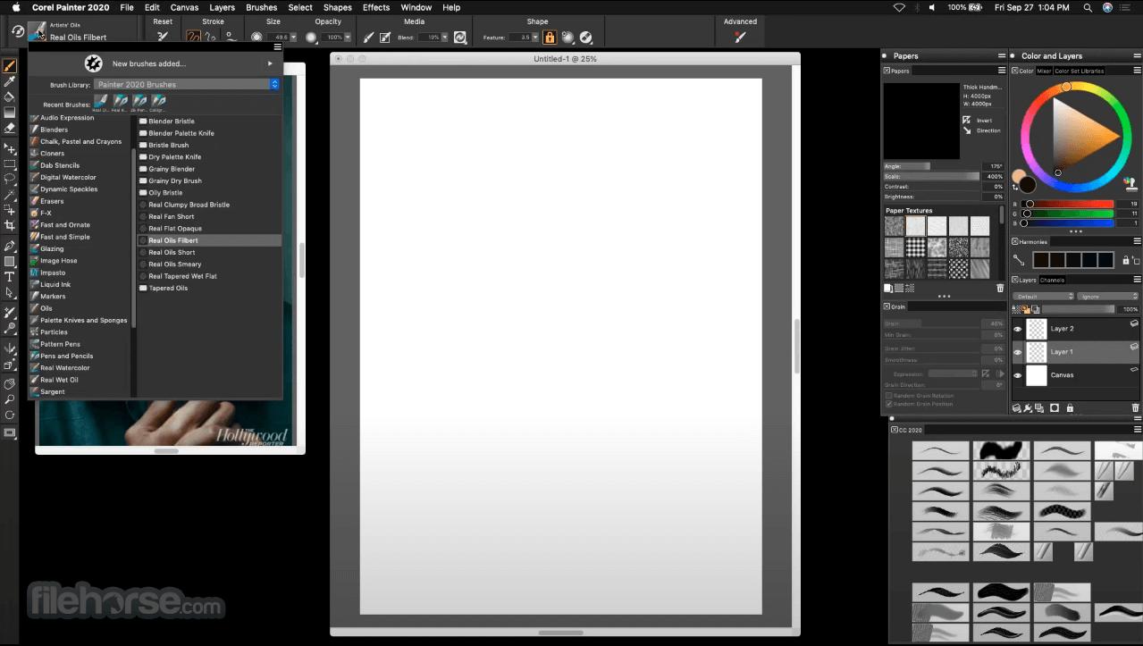 Corel Painter 2021 Captura de Pantalla 1