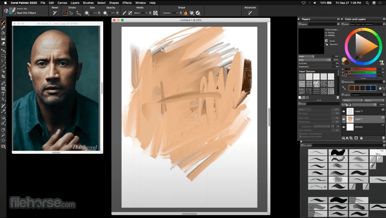 Corel Painter 2021 Captura de Pantalla 2