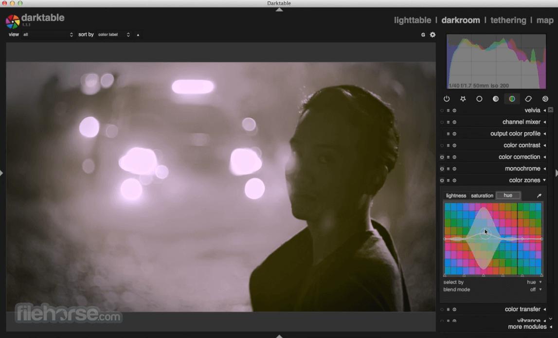 Darktable 3.2.1 Captura de Pantalla 4