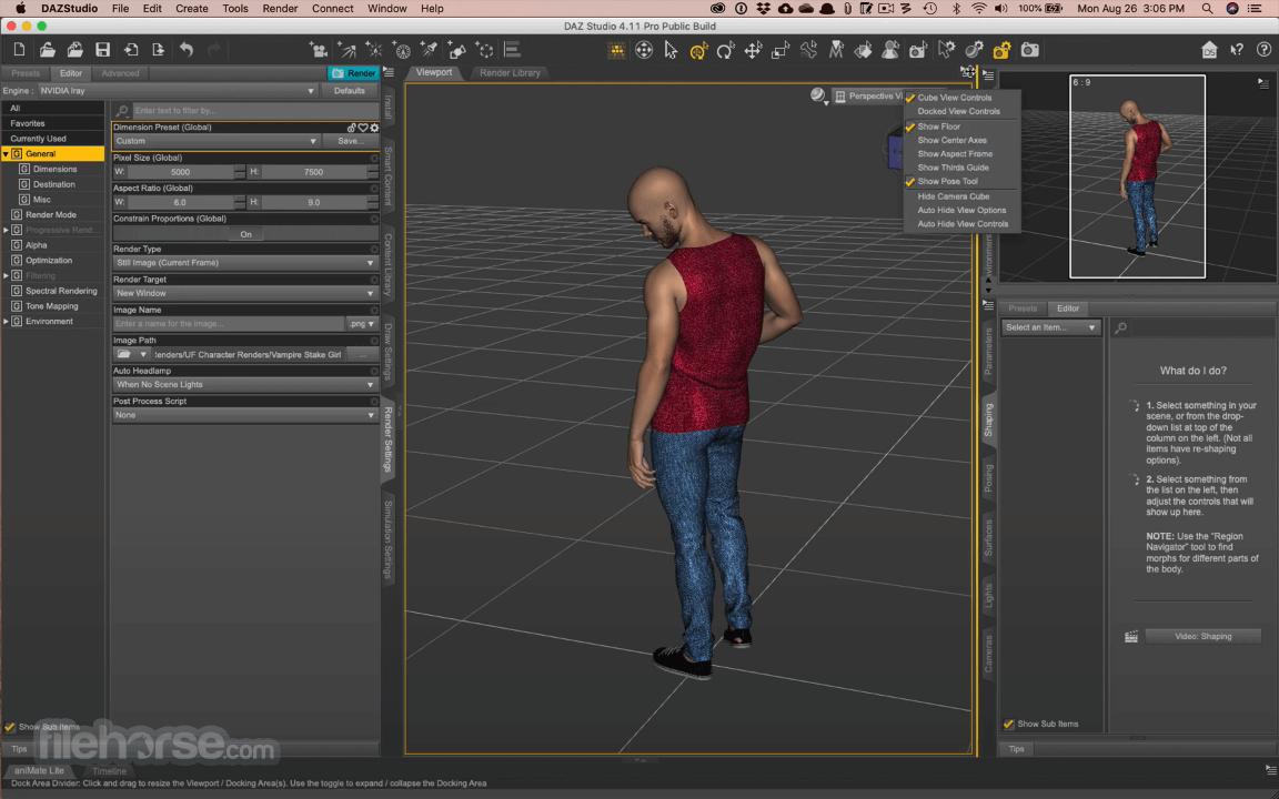 DAZ Studio 4.15 Captura de Pantalla 1
