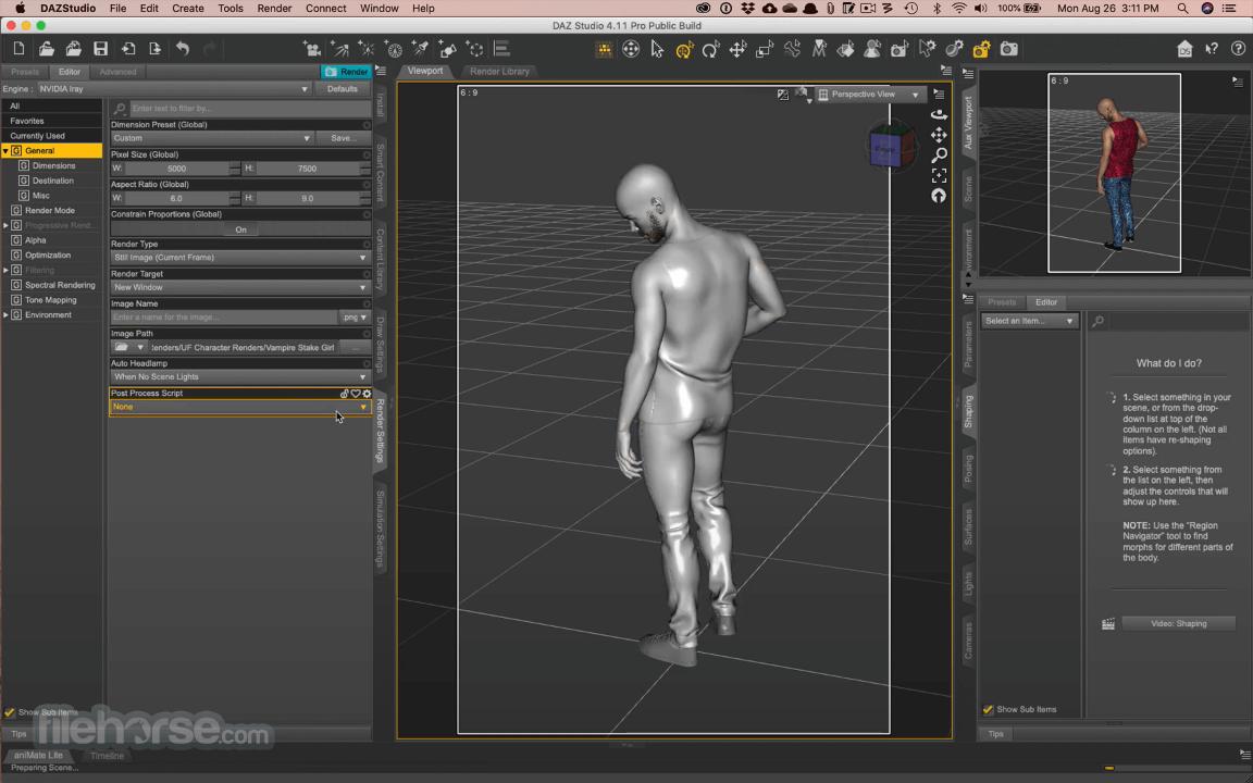 DAZ Studio 4.15 Screenshot 2
