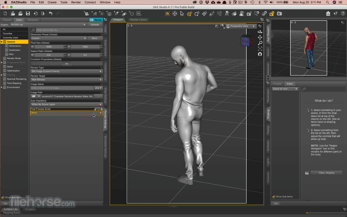 DAZ Studio 4.15 Captura de Pantalla 2