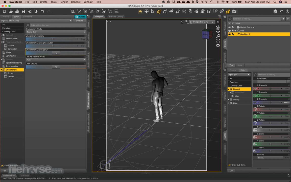 DAZ Studio 4.15 Captura de Pantalla 4