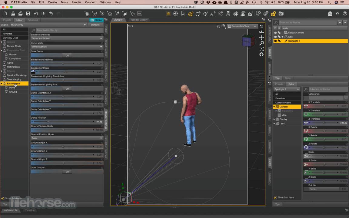 DAZ Studio 4.15 Captura de Pantalla 5