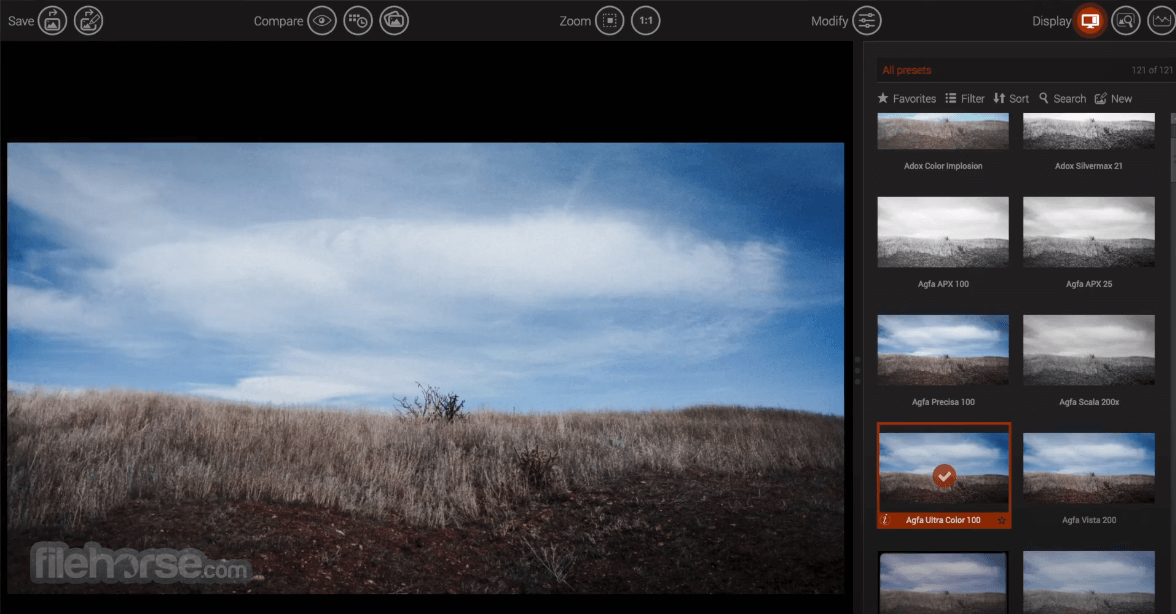 DxO FilmPack 5.5.13 Screenshot 1