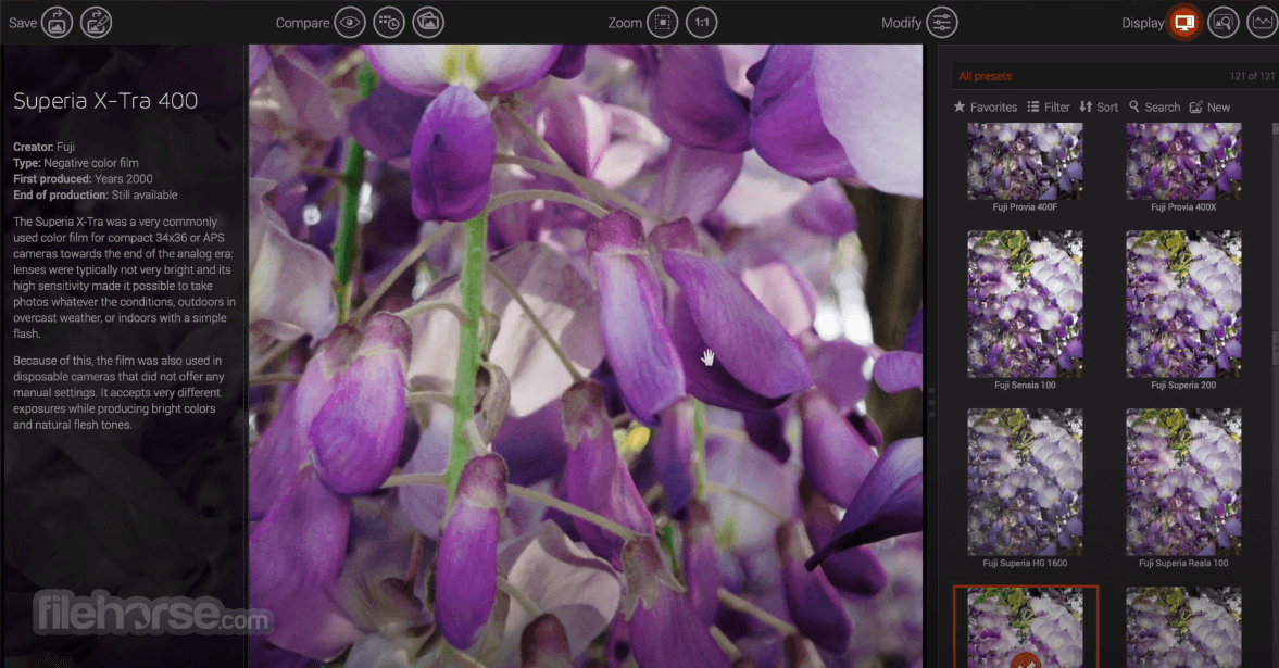 DxO FilmPack 5.5.13 Screenshot 3