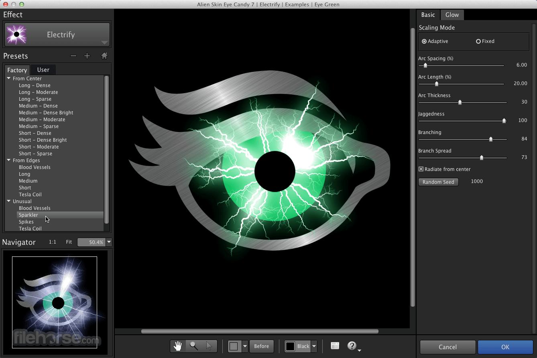Eye Candy 7.2.3.96 Screenshot 1