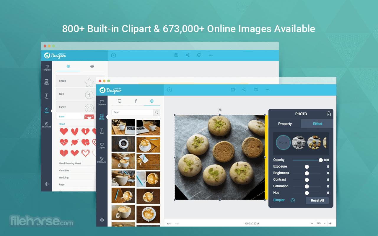 FotoJet Designer 1.1.8 Screenshot 4
