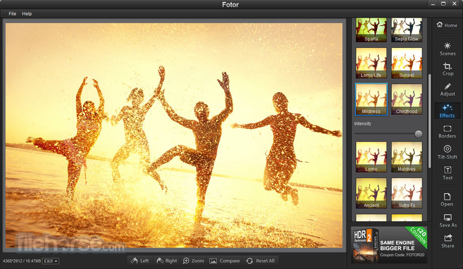 Fotor for Mac 1.3.2 Screenshot 3