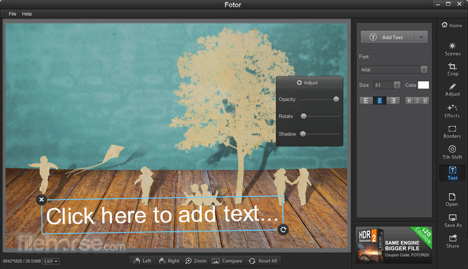 Fotor for Mac 1.3.2 Screenshot 4