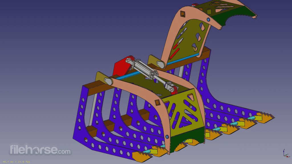 FreeCAD 0.14 Captura de Pantalla 2
