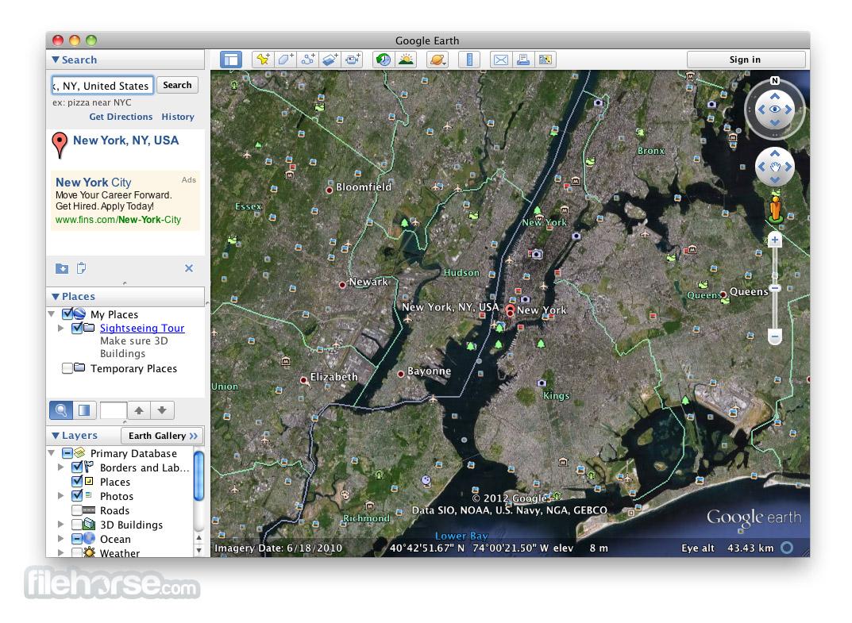 Google Earth 7.1.8.3036 Screenshot 4