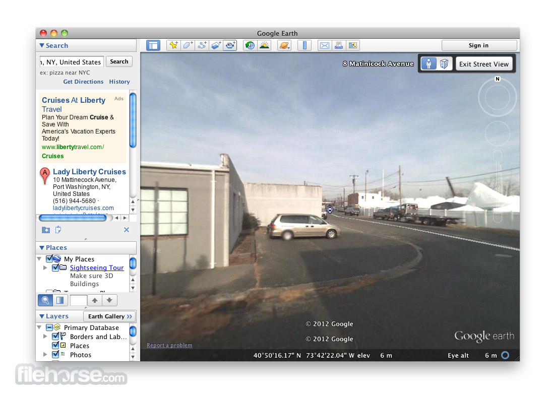 Google Earth 7.3.1.4507 Screenshot 5