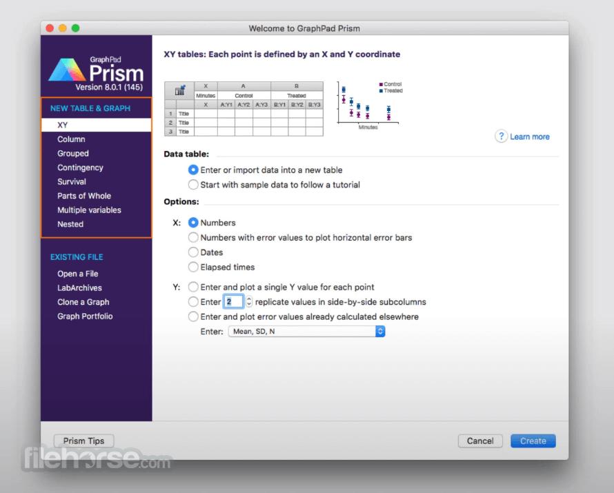 graphpad prism version 6 free download