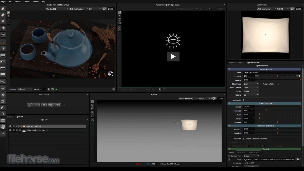 HDR Light Studio Screenshot 2