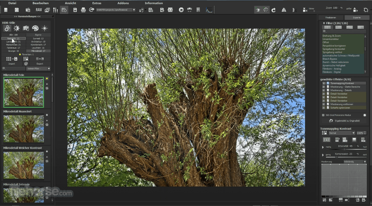 HDR projects 7.23.03465 Screenshot 3