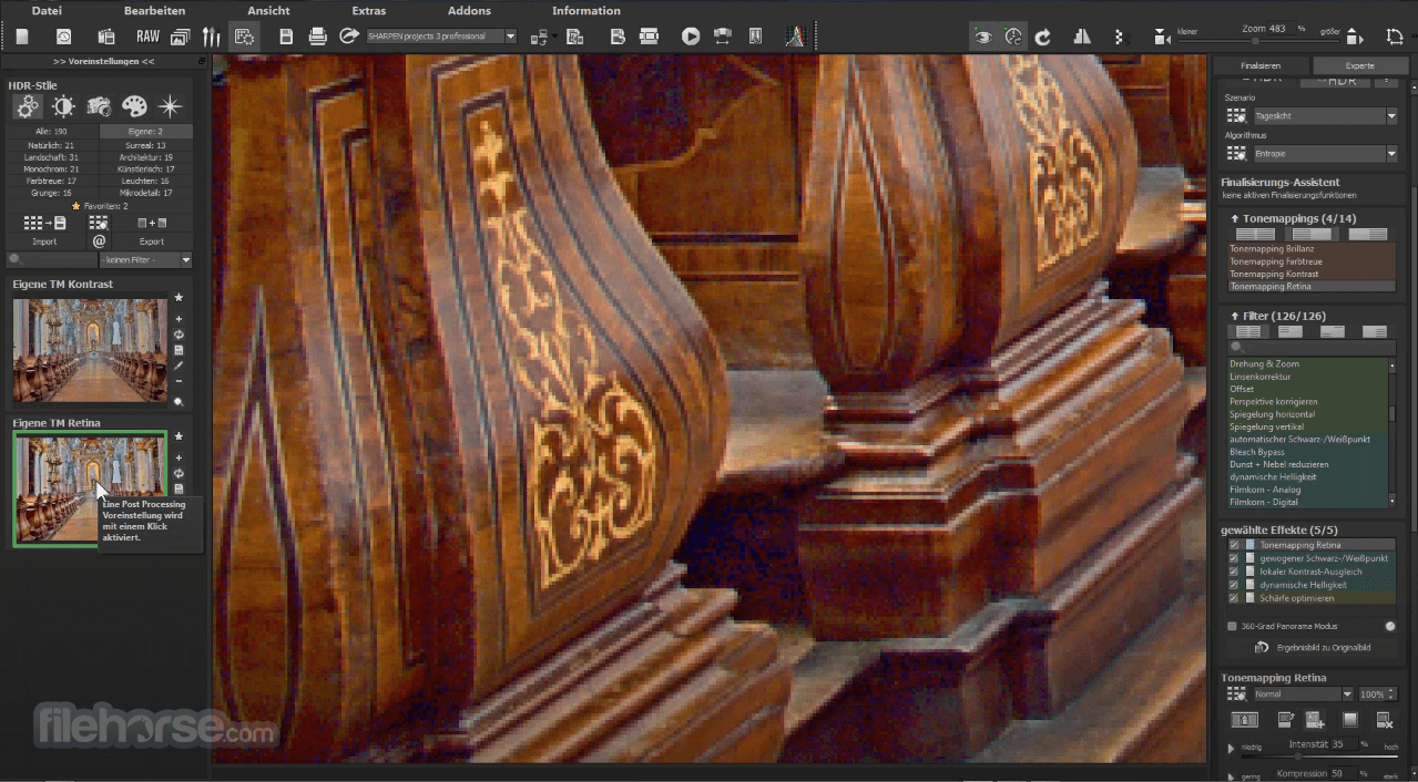 HDR projects 7.23.03465 Screenshot 4